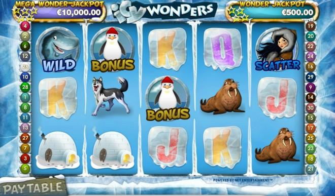 Диаспаре Автомат Игровой Wonders Icy или