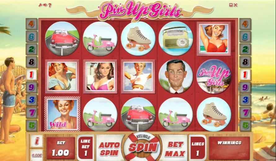 Игровой автомат Pin Up Girls