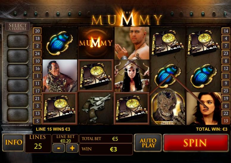 Игровой автомат Mummy