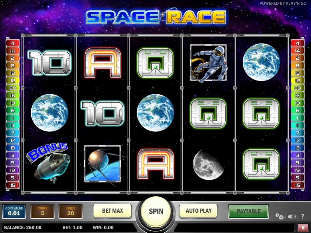 Игровой автомат Space Race