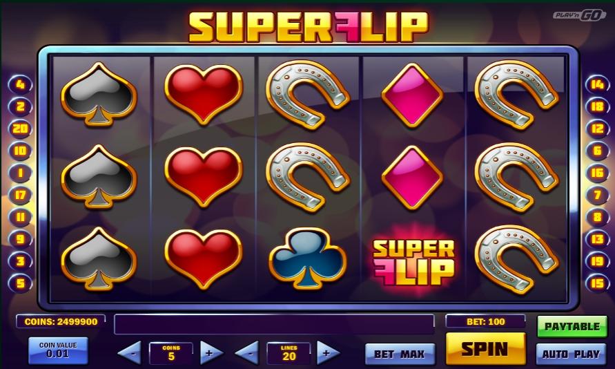 Игровой автомат Super Flip