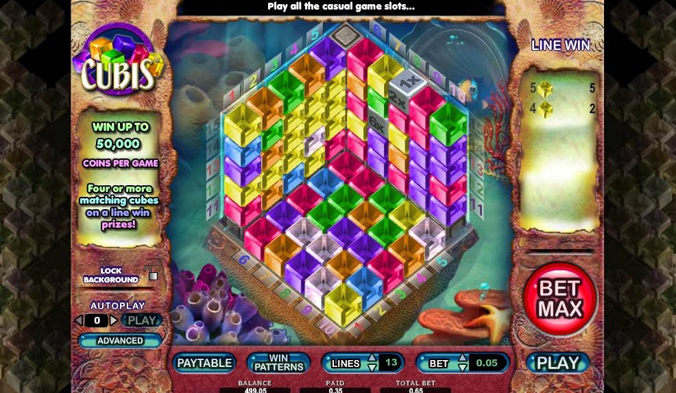 Игровой автомат Cubis